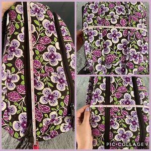 Vera Bradley Bags - 🥳HP🎉 Vera Bradley Large Campus Backpack Purple